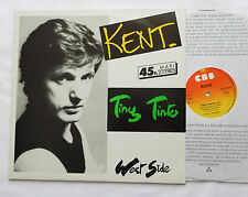"""KENT (STARSHOOTER) Tiny Tinto/West side  ORIG 12""""EP CBS A123923 - NM/EX"""