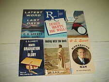Lot 6 Books C. S. Lovett Latest Word Jesus Wants You Well Death Get Ready Church