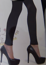 $16 NWT NEW L/XL Black Stretch Fleece Lined Winter Thermal Slim Skinny Legging