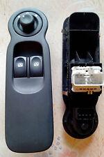 Bouton Interrupteur leve vitres + retro conducteur Renault Modus 8200277630 A