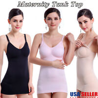 Women Camisole With Built In Shelf Bra Slim Sleeveless Tank Top Vest Undershirt