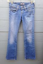 FORNARINA JEANS FOR WOMEN SIZE 39CM 15.5 INCHES MEDIUM WASH STRAIGHT LEG PRE-OWN