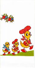 New listing ReTrO Vtg Style Mama Duck Ducklings Flour Sack Kitchen Dish Tea Towel Cottage
