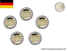 5 Ateliers 2 Euros Commémorative Allemagne 2020 Lander UNC