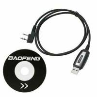 1*USB Programming Cable + CD for Baofeng UV-5R 666S 777S 888S UV-B5 UV-B6 Radio