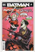 "Batman Issue #1 ""Harley Quinn vs. Joker DC Comics (6/27/18 1st Print)"