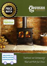 YEOMAN Stoves DEFRA Log / Wood Burning / Multifuel Stove Catalogue