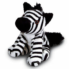 13cm Zebra Soft Toy - Plush Cuddly Toy - Suitable for all ages (0+)