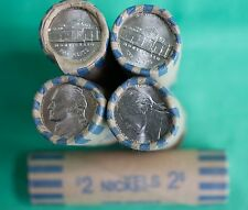 2003 D Jefferson Nickel UNC Five Cent 40 Coin Roll BWR Bank Wrapped