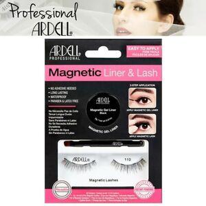 Ardell Professional Magnetic Lash & Liner 110 False Fake Eyelashes - Black