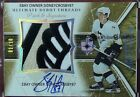 2005-06 ULTIMATE DEBUT THREADS SIDNEY CROSBY PATCH AUTO 3 COLORS #1/10 THE HAND