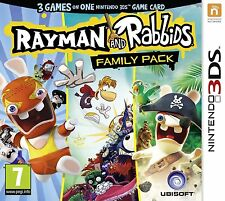 Rayman and Rabbids Family Pack 3DS PAL *NEW!* + Warranty!