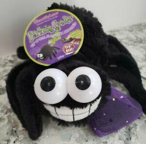 Animated barking spider w/ remote control Chamtilly Lane Talking Toys Pranks