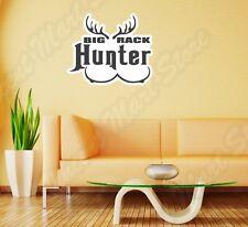 "Big Rack Hunter Hunting Boops Tits Funny Wall Sticker Room Interior Decor 25X20"""