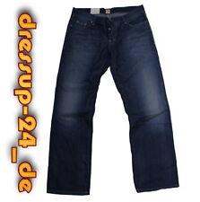 Hugo Boss Jeans Bo 1 W33 L34 blau regular fit Denim Baumwolle orange Label Neu!