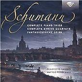 Schumann: Complete Piano Trios and String Quartets, Quartetto Savinio, Matteo Fo
