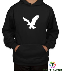 Eagle Hoodie Men Unisex Pullover Top S-XXL Gift - Can be Personlised