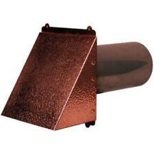 Hammered Copper Dryer Vent Exhaust Vent 4 12