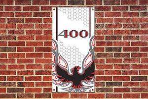 Pontiac Firebird Trans Am 400  Tribute Garage Banner 4 x 2