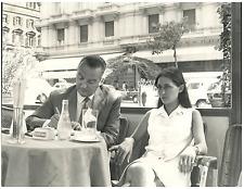 Israel, Yael Dayan con Luigi Romersa  Vintage silver print,Yael Dayan, née le