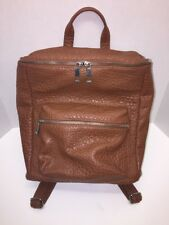 ASOS Brown Bag Backpack Satchel Hobo Pockets Zipper Medium School Travel  Work 8a6acac974912