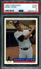 1993 Fleer Excel Derek Jeter #106 Rookie RC PSA 9