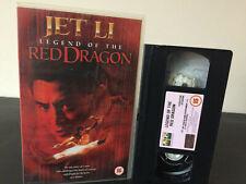 Red Dragon Ex Rental VHS Tape - Jet Li Martial Arts Ninja