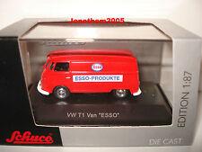 SCHUCO VW T1 VAN ESSO au 1/87° Echelle  HO