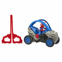 Marvel Spider-Man: Spider-Ham 6-Inch Super Hero Action Figure And Stunt Vehicle