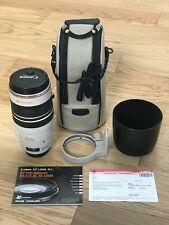 Canon EF 100-400mm f/4.5-5.6L IS USM Lens (w/ Lens Hood, Bag + Lens Caps)