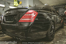 MERCEDES BENZ S Class w221 Brabus TAILGATE REAR trunk lip SPOILER door wing AMG