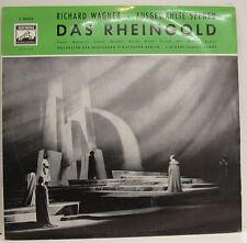 "WAGNER LA RHEINGOLD FRANTZ MAHER CHOQUE MELCHERT RUDOLF KEMPE 12"" LP d974"