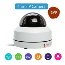 4mm Ip Dome Camera 2Mp Speed Onvif Network 1080P Home Security Audio Pan Tilt
