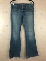 American Eagle Womens Size 6 Boot Cut Jeans Stretch Light Wash