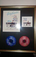 Tom Hanks Sally Field Gary Sinise Forest Gump Autograph 21×18 Framed Soundtrack