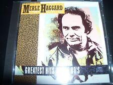 Merle Haggard Greatest Hits Of The 80's Promo (Australia) CD – Like New