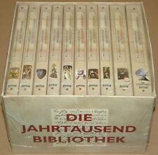 Die Jahrtausendbibliothek - Set aus 10 Bände im Pappbox - Neu & OVP