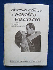 RUDOLPH VALENTINO 'AVVENTURE D'AMORE' Life & Loves of Silent Film Heart-Throb
