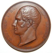 1849-BELGIO-LEOPOLDO I MEDAGLIA DI BRONZO