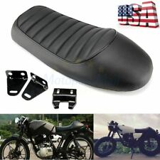 Hump Saddle Cafe Racer Vintage Seat Cushion For Honda CB CL Suzuki GS Yamaha XJ