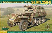 SdKfz.250/8 Stummel << ACE #72514, 1:72 scale