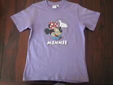 Tolles DISNEY Minnie Mouse T–Shirt Micky Maus lila Größe 128
