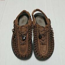 Keen Men Shoe UNEEK Size 10M Brown Sport Athletic Sandal Pre Owned