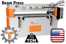 New Cjrtec 70 Ton Beam Clicker Press Die Cutting Machine