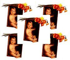 Anne Geddes Baby Scrapbook Stickers Flowers Poppies 5 Sheets