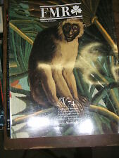 FMR Franco Maria Ricci N° 74 Zoophore Parme Tapisserie de Malte Ciro Ferri Art