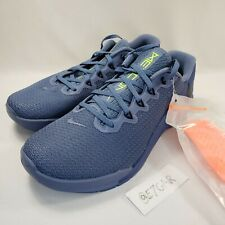 New MEN'S NIKE METCON 5 Size 9.5 AQ1189-434 Ocean Navy Training Shoes