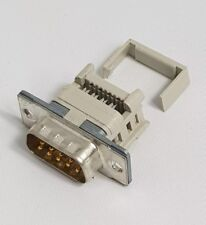 10 x D-Sub DB9 9 Pin Male Connectors For IDC / Flat Ribbon Cable