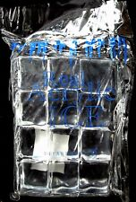 """Dept. 56 Real Acrylic Ice Cubes 1"""" by 1"""" Package of 12 Heritage 44476 New"""