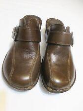 B.O.C BORN O CONCEPT Womens Clogs/Shoes Size 9 M/40.5 Brown BC6629 CIE10